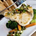 Chef Andrea's Sword Fish